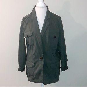 Dress Barn Jackets & Coats - Army Green Blazer